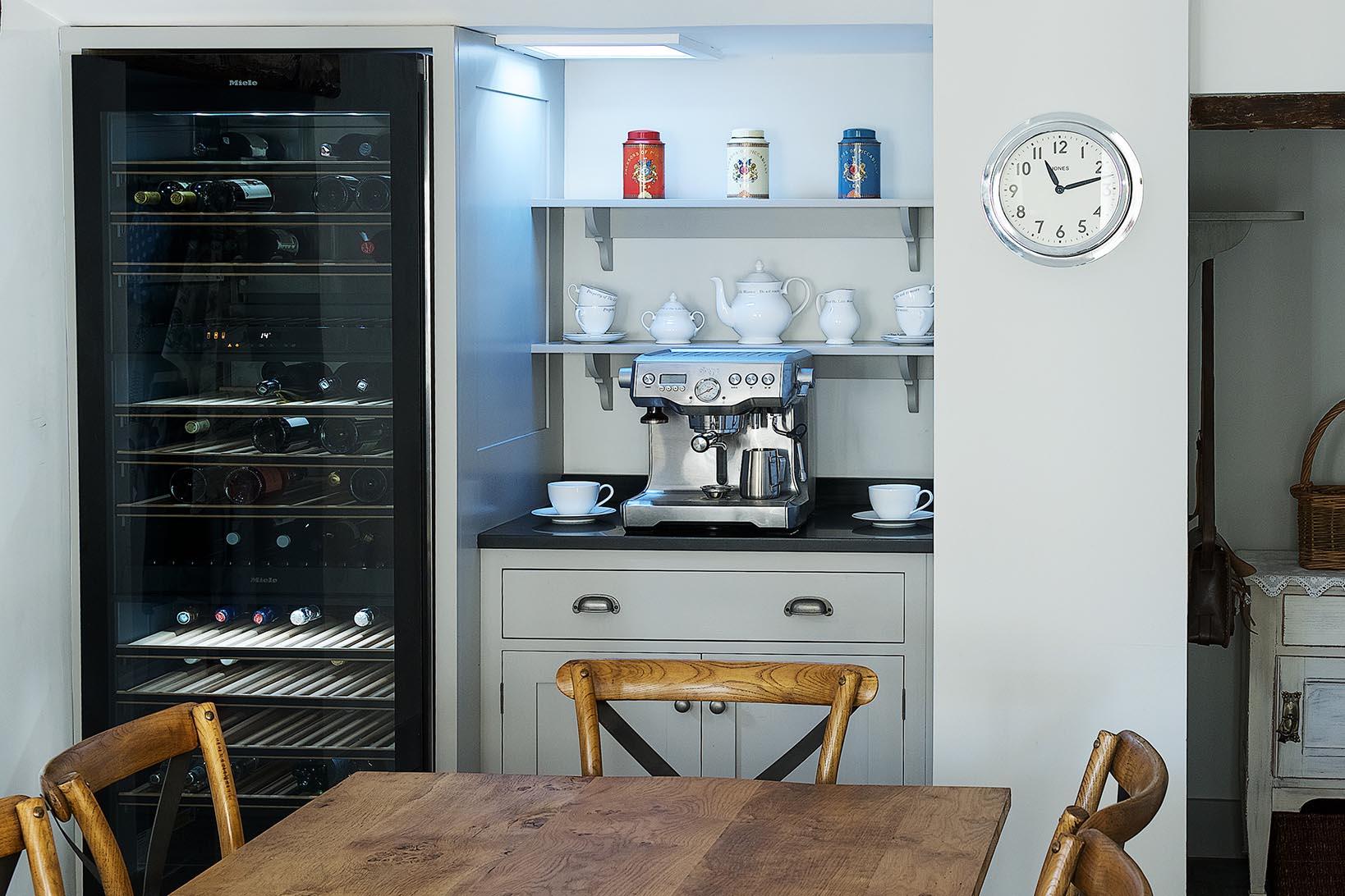 Bespoke Breakfast Pantry Tea Toast Cabinet Charlie Kingham Surrey